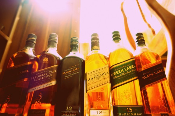 photo credit: Johnnie Walker Line-up via photopin (license)