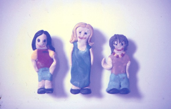 photo credit: Three friends – immortalised in fridge magnet form via photopin (license)